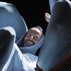 worek sensoryczny w użyciu